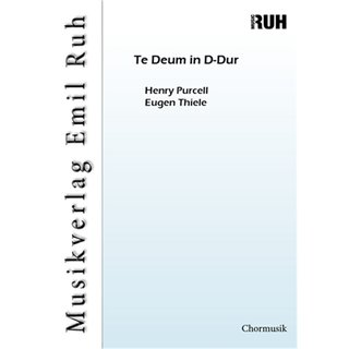 Te Deum in D-Dur - Purcell, Henry - Thiele, Eugen