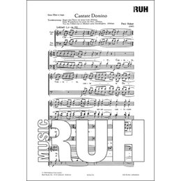 Cantate Domino canticum - Huber, Paul