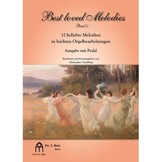 Best Loved Melodies - Band 2; Ausgabe mit Pedal - Tambling, Christopher