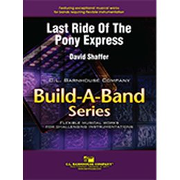 Last Ride of the Pony Express - Shaffer, David