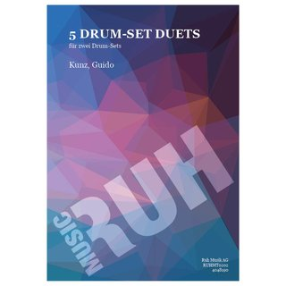 5 Drum-Set Duets - Kunz, Guido
