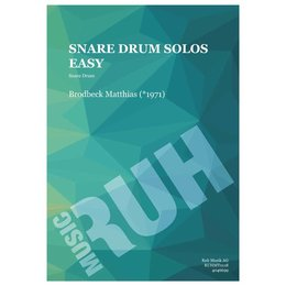 Snare Drum Solos Easy - Brodbeck, Matthias