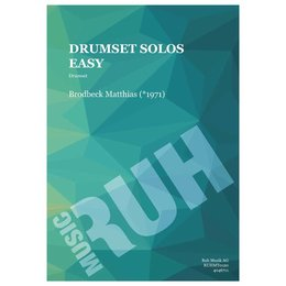Drumset Solos Easy - Brodbeck, Matthias