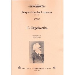 Band VIII: 13 Orgelwerke - Lemmens, Jacques-Nicolas