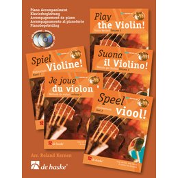 Play the Violin! Piano Accompaniment vol. 2 - van Elsten,...