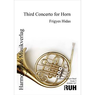 Third Concerto for Horn - Hidas, Frigyes