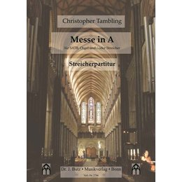 Messe in A - Tambling, Christopher