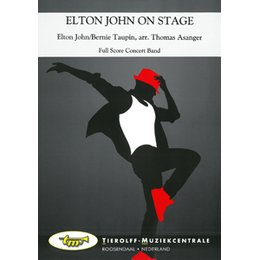 Elton John on Stage - John, Elton - Asanger, Thomas
