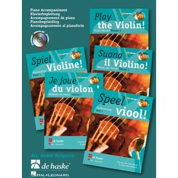 Play the Violin! Piano Accompaniment vol. 1 - Meuris, Wim...