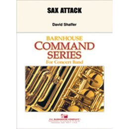 Sax Attack! - Shaffer, David