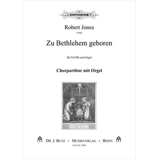 Zu Bethlehem geboren - Jones, Robert