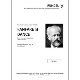 Fanfare and Dance from Swan Lake / Fanfare und Tanz aus...
