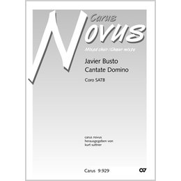 Cantate Domino - Busto, Javier