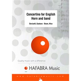 Concertino for English Horn and band - Donizetti, Gaetano...